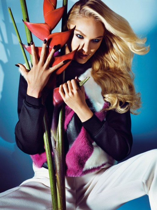 Candice Swanepoel Gets Glam for Numéro Tokyo's September 2012 Cover Shoot
