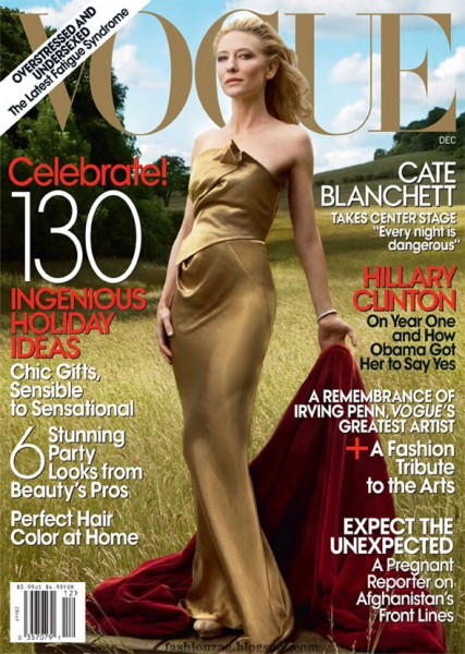 Cover | Cate Blanchett by Annie Leibovitz for Vogue US December '09