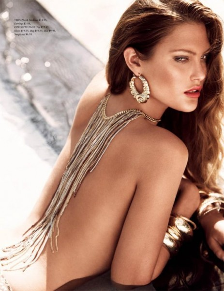 Catherine McNeil by Alexi Lubomirski for H&M Magazine Summer 2010