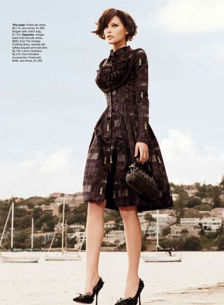 Catherine McNeil by Nicole Bentley for <em>Vogue Australia</em> September 2010