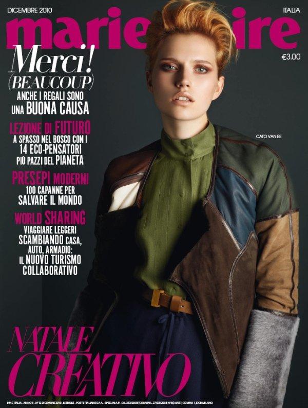 Marie Claire Italia December 2010 | Cato Van Ee