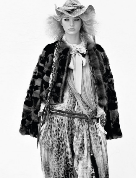 Patricia van der Vliet in Roberto Cavalli for <em>Interview</em> June 2010