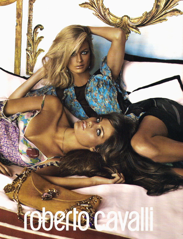 Roberto Cavalli Spring 2010 Campaign Preview | Carolyn & Isabeli by Steven Meisel