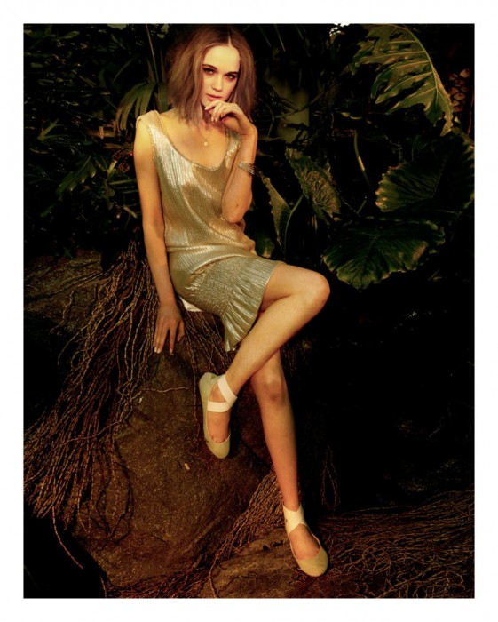 Rosie Tupper for Charles David Spring 2012 Campaign by Yu Tsai