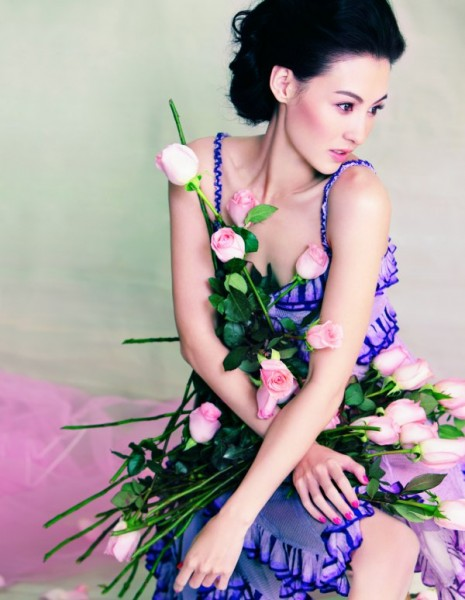 Cecilia Cheung for <em>Harper's Bazaar China</em> February 2011 by Feng Hai