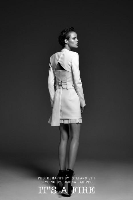 Celine Van Amstel by Stefano Viti for Fashion Gone Rogue