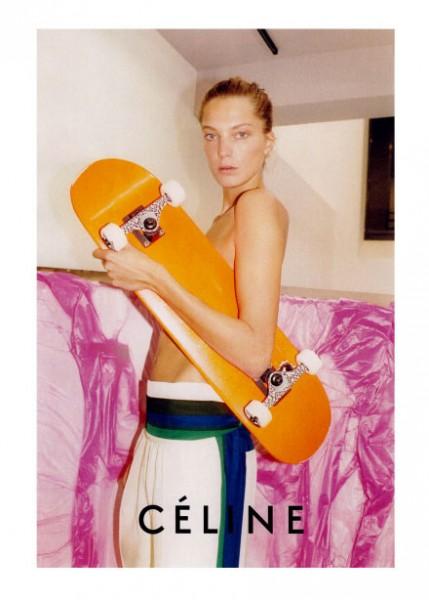 Céline Spring 2011 Campaign Preview | Daria Werbowy by Juergen Teller