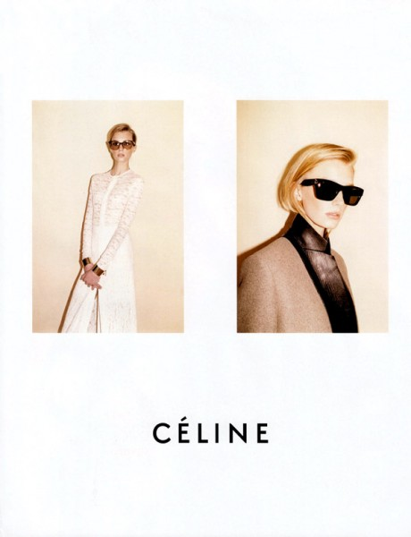 Céline Fall 2010 Campaign Preview | Sigrid Agren & Emma Balfour by Juergen Teller