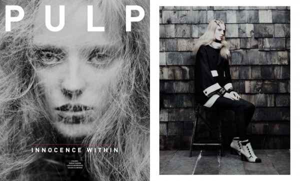 Kristen by Chris Nicholls in Chanel for <em>Pulp</em> #4