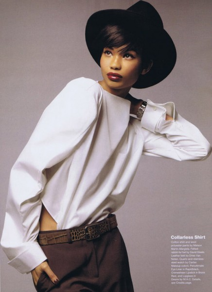 Chanel Iman for Allure September 2010 by Thomas Schenk