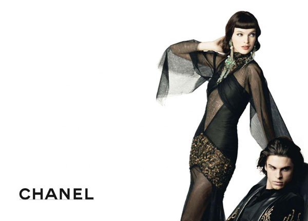 Chanel Pre-Fall 2010 Campaign | Mirte Maas by Karl Lagerfeld