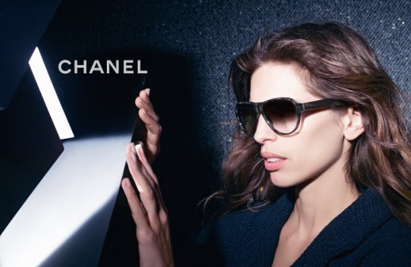 Chanel Enlists Maïwenn for its Fall 2012 Eyewear Campaign by Karl Lagerfeld