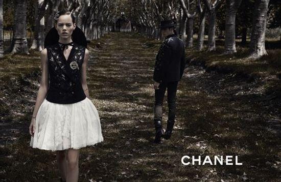 Chanel Spring 2010 Campaign | Freja Erichsen & Claudia Schiffer
