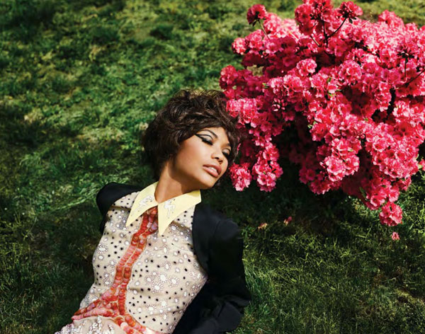 Chanel Iman for <em>The Block</em> Summer 2010 | First Look
