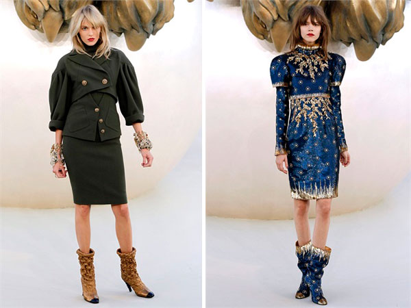 Chanel | Paris Haute Couture Fall 2010