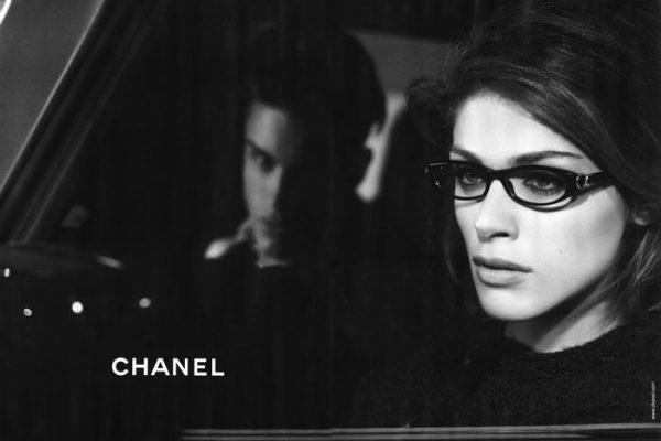 Chanel Eyewear Fall 2010 Campaign | Elisa Sednaoui by Karl Lagerfeld