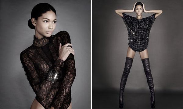 Brillo en el Cuerpo | Chanel Iman by Joan Alsina for El Mundo