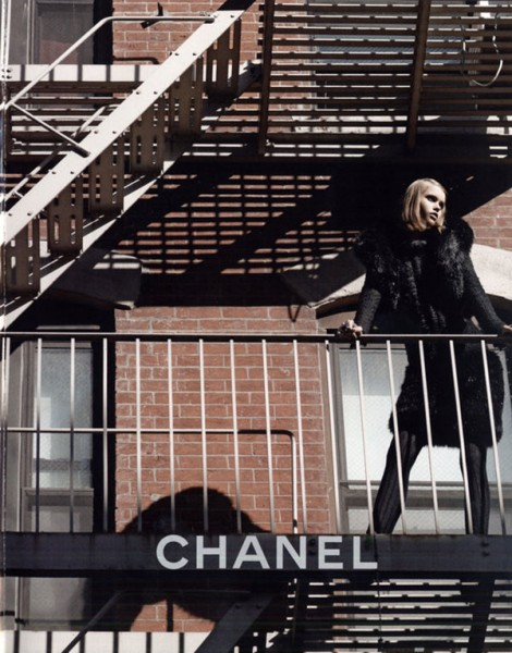 Chanel Fall 2010 Campaign Preview | Abbey Lee Kershaw by Karl Lagerfeld