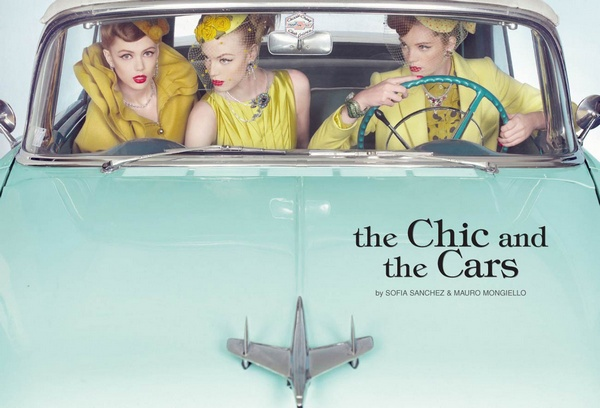 The Chic and the Cars | Sanchez & Mongiello for Vogue Gioiello