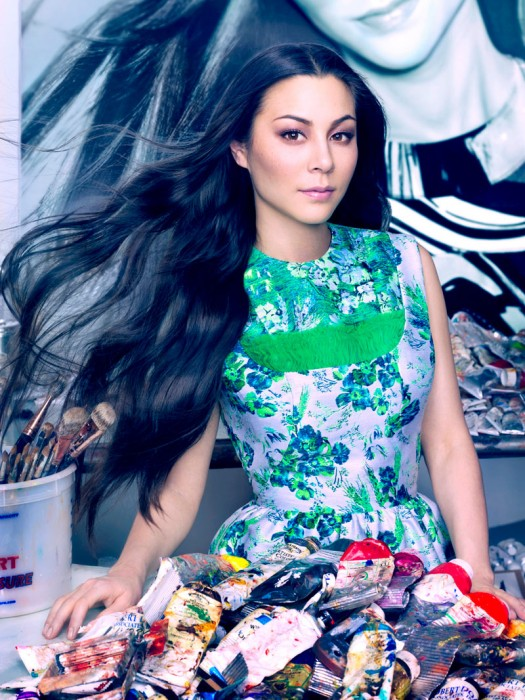 China Chow by Markus + Indrani for Vogue China Collections S/S 2012