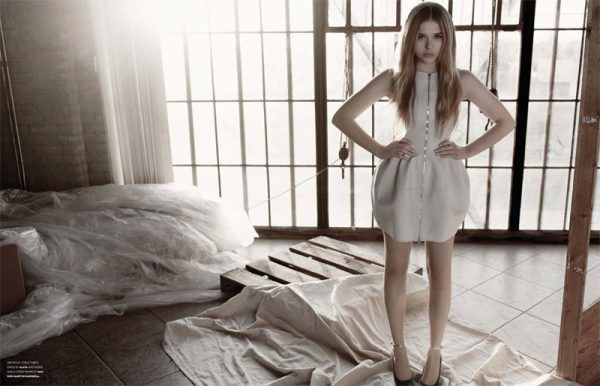 Chloe Moretz by Yu Tsai for Flaunt Spring 2012
