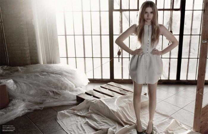 Chloe Moretz by Yu Tsai for Flaunt Spring 2012
