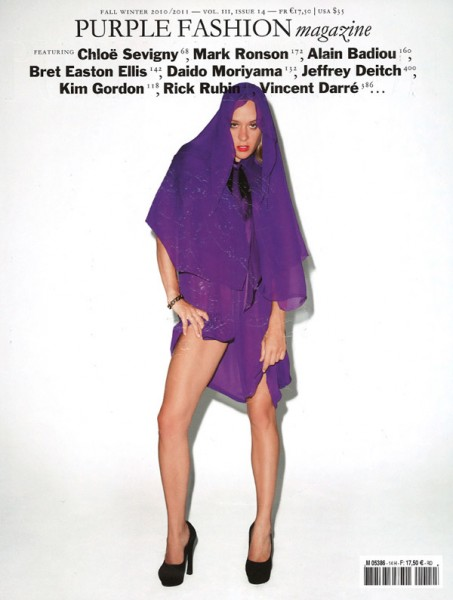 <em>Purple Fashion</em> F/W 2010 Cover | Chloe Sevigny by Terry Richardson