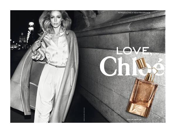 Love, Chloé Fragrance Campaign   Raquel Zimmermann by Inez & Vinoodh