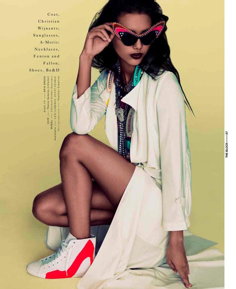 Chrishell Stubbs by Bon Duke for The Block Magazine S/S 2012