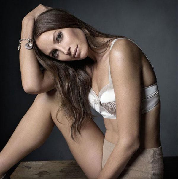 Christy Turlington for Elle France December 2010 by Mark Seliger