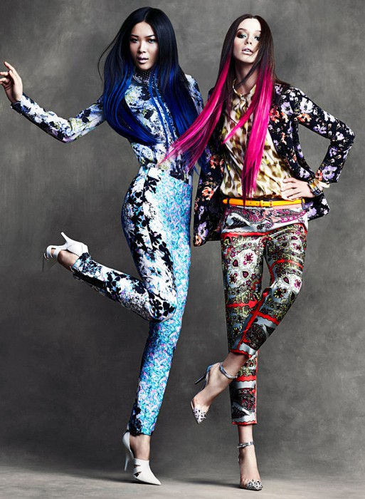 Wei & DJ by Chris Nicholls for Flare April 2012