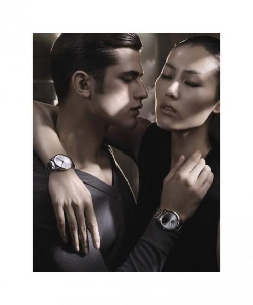 ck Calvin Klein Accessories Spring 2011 Campaign | Lara Stone & Liu Wen by Fabien Baron