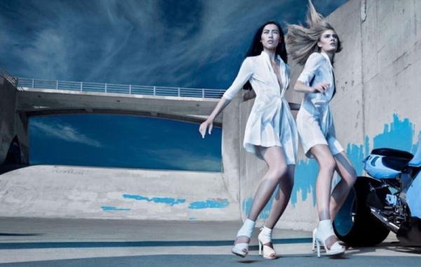 CK by Calvin Klein Spring 2010 Campaign | Liu, Constance & Mirte by Craig McDean