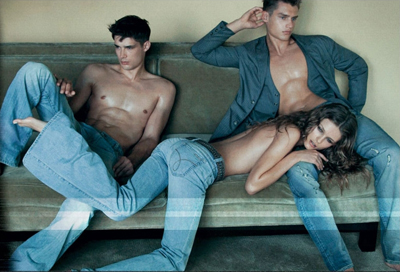 Calvin Klein Jeans S/S 2009 Campaign by Steven Meisel