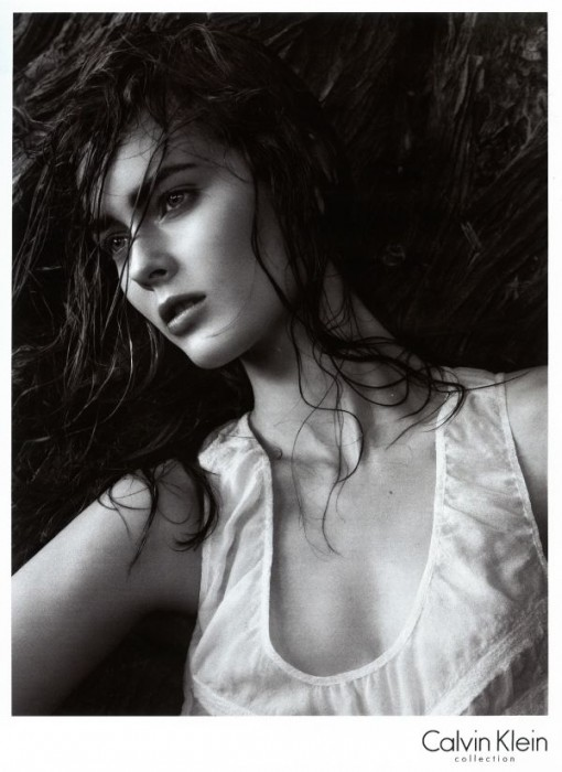 Calvin Klein S/S '10 Campaign Preview | Monika Jagaciak by Sims