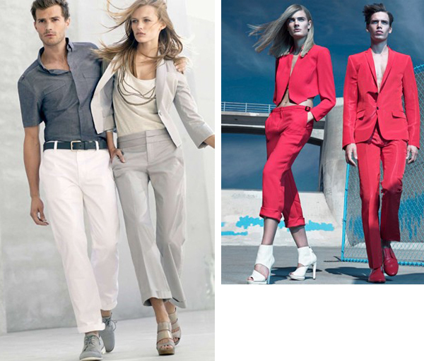 S/S '10 Campaign Previews | Edita & Constance for Calvin Klein