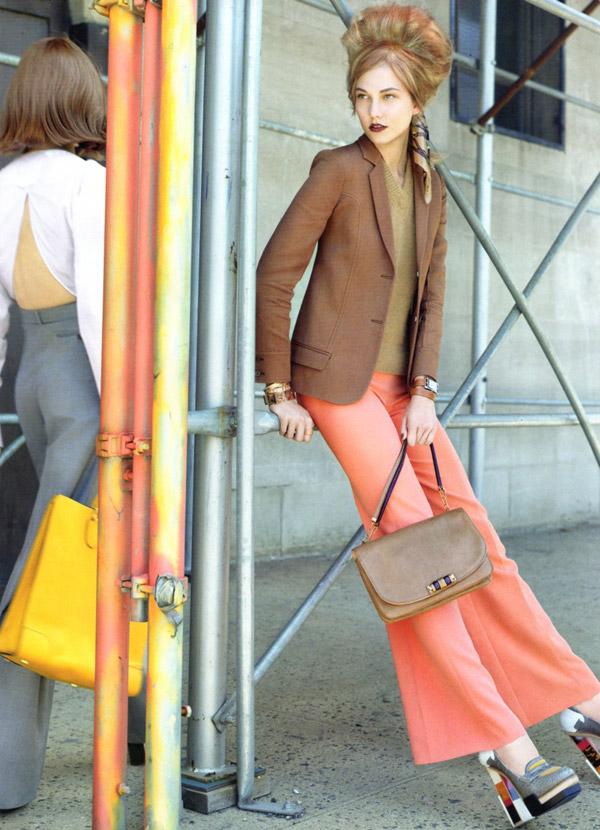 Karlie Kloss by Raymond Meier for Vogue US August 2010