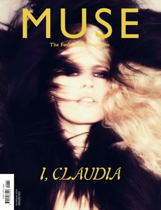 Muse #20 Cover | Claudia Schiffer by Jonas Bresnan