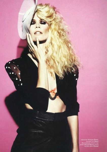 Muse #20–I, Claudia | Claudia Schiffer by Jonas Bresnan