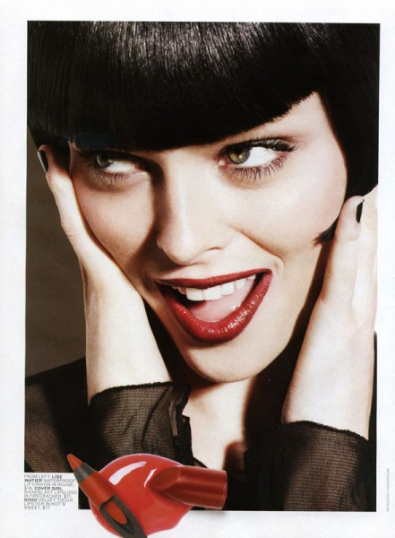 Coco Rocha for <em>Glow</em> by Ishi