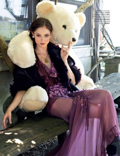 Coco Rocha for <em>Tatler Russia</em> October 2010 by Arthur Elgort