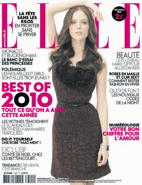 Coco Rocha for Elle France December 24, 2010