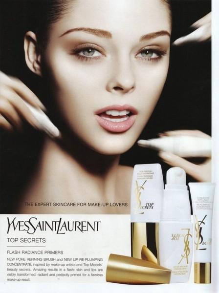 Ad Campaign | Coco Rocha for YSL Skincare