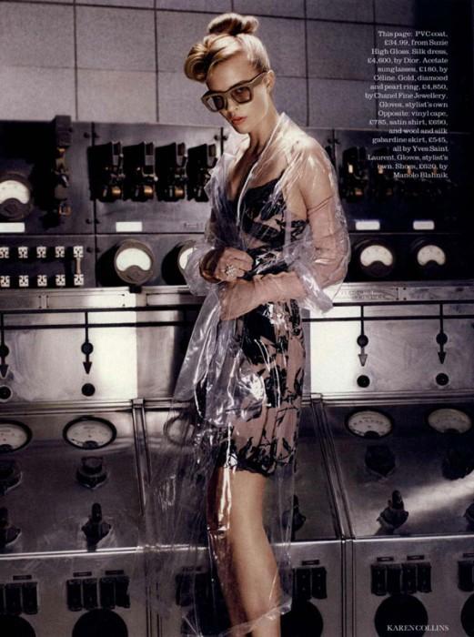 Josefin Hedstrom by Karen Collins in Brand New Retro | Elle UK September 2010