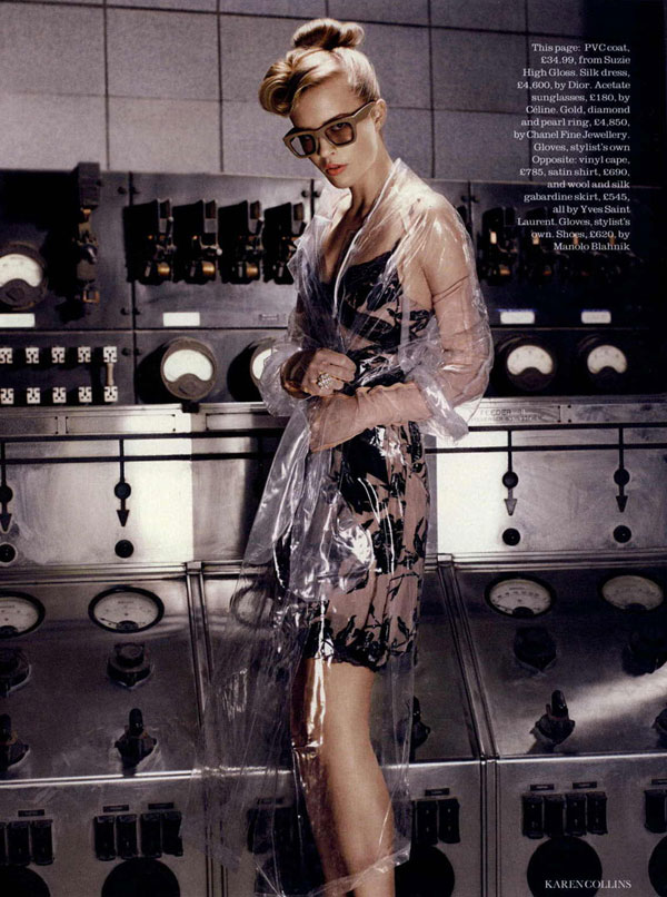 Josefin Hedstrom by Karen Collins in Brand New Retro | Elle UK September 2010