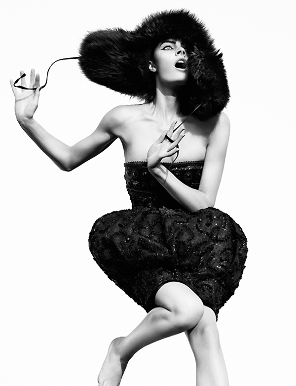 Constance Jablonski by Greg Kadel for Vogue Germany September 2010