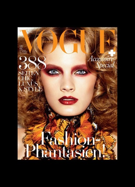 Constance Jablonski for <em>Vogue Germany</em> March 2011 (Cover)