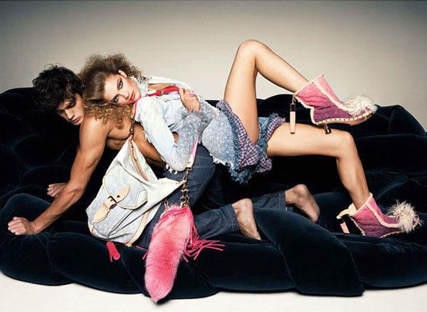 W January 2010 | Constance Jablonski by Knoepfel & Indlekofer