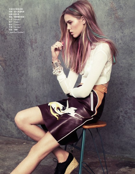 Josefien Rodermans by Naomi Yang for <em>Vogue Taiwan</em>