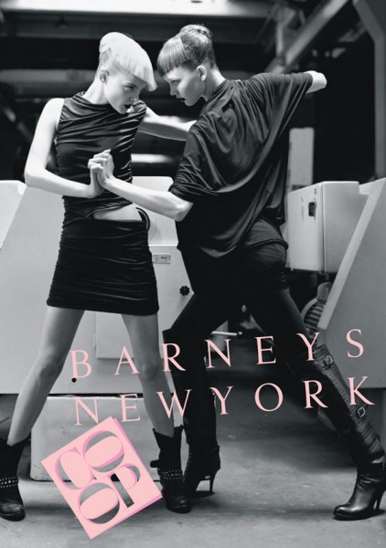 Viktoriya Sasonkina & Karlie Kloss for Barneys CO-OP Fall '09